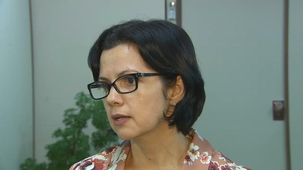Juíza Larissa Noronha diz que pretendentes têm perfi fechado (Foto: Reprodução/Rede Amazônica)