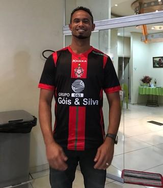 Bruno Fernandes; goleiro boa esporte (Foto: Lúcio Adolfo)