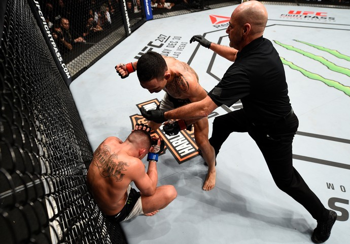 Max Holloway x Anthony Pettis (Foto: Getty Images)