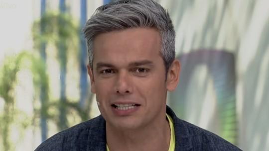 Otaviano Costa fala da emoção de ver a filha nos bastidores da TV