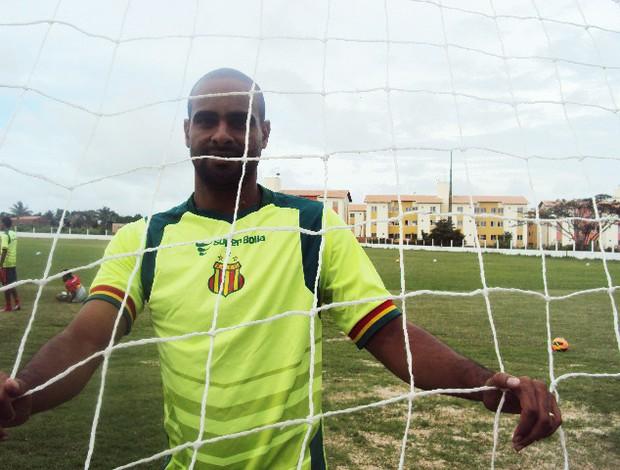 Tiago Cavalcanti já balançou as redes dez vezes na Série C (Foto: Afonso Diniz/Globoesporte.com)