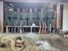 PM apreende 10 armas em operação de combate à caça e pesca em MG