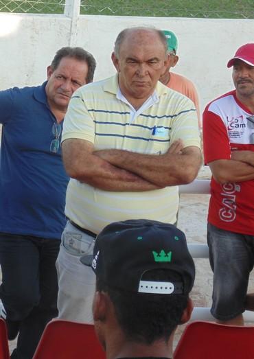 Ari Santos e Francisco Ispo Caiçara (Foto: Ricardo Andrade de Sousa)