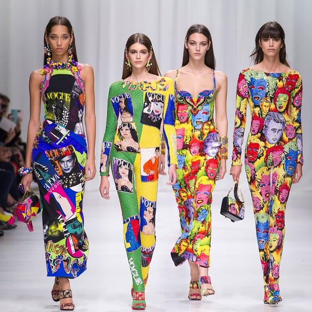 Versace verão 2018 (Foto: Getty Images)