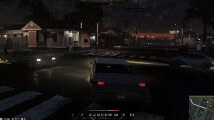 Mafia 3 tem dezenas de carros de época. Treine muito no volante (Foto: Reprodução/Thomas Schulze)