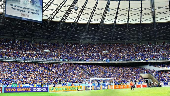 MegaFoto Mineirão Cruzeiro jogo taça (Foto: MegaFoto)