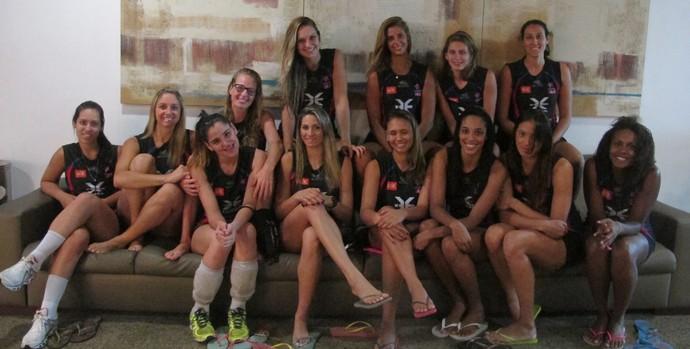 Casa das 13 mulheres: meninas do Maranhão Vôlei vivem em hotel em São Luís  (Foto: Carol Fontes)