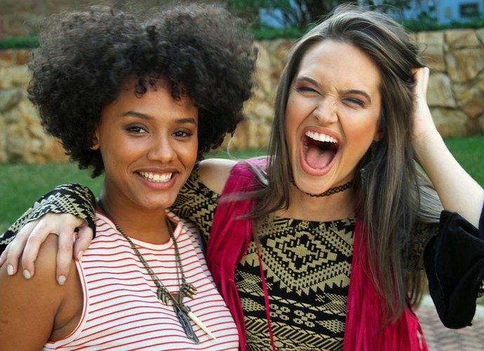 As duas se tornaram amigas em Malhação e continuam próximas até hoje (Foto: Totalmente Demai/TV Globo)