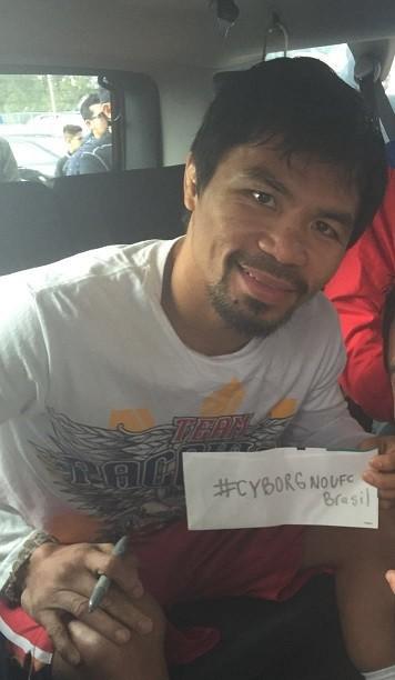 BLOG: Até Manny Pacquiao faz coro por Cris Cyborg no UFC Curitiba