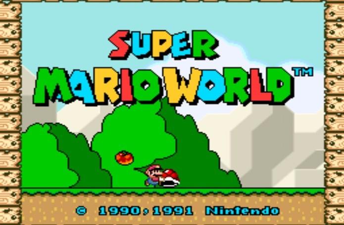 Super Mario World é um jogo clássico que conquistou uma geração (Foto: Reprodução / Dario Coutinho)