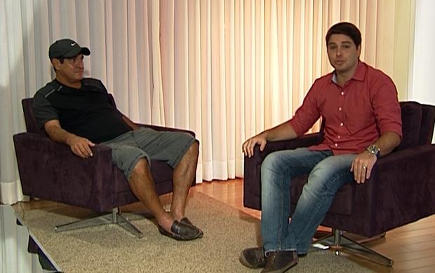 Muricy Ramalho e Felipe Diniz (Foto: Reprodução SporTV)