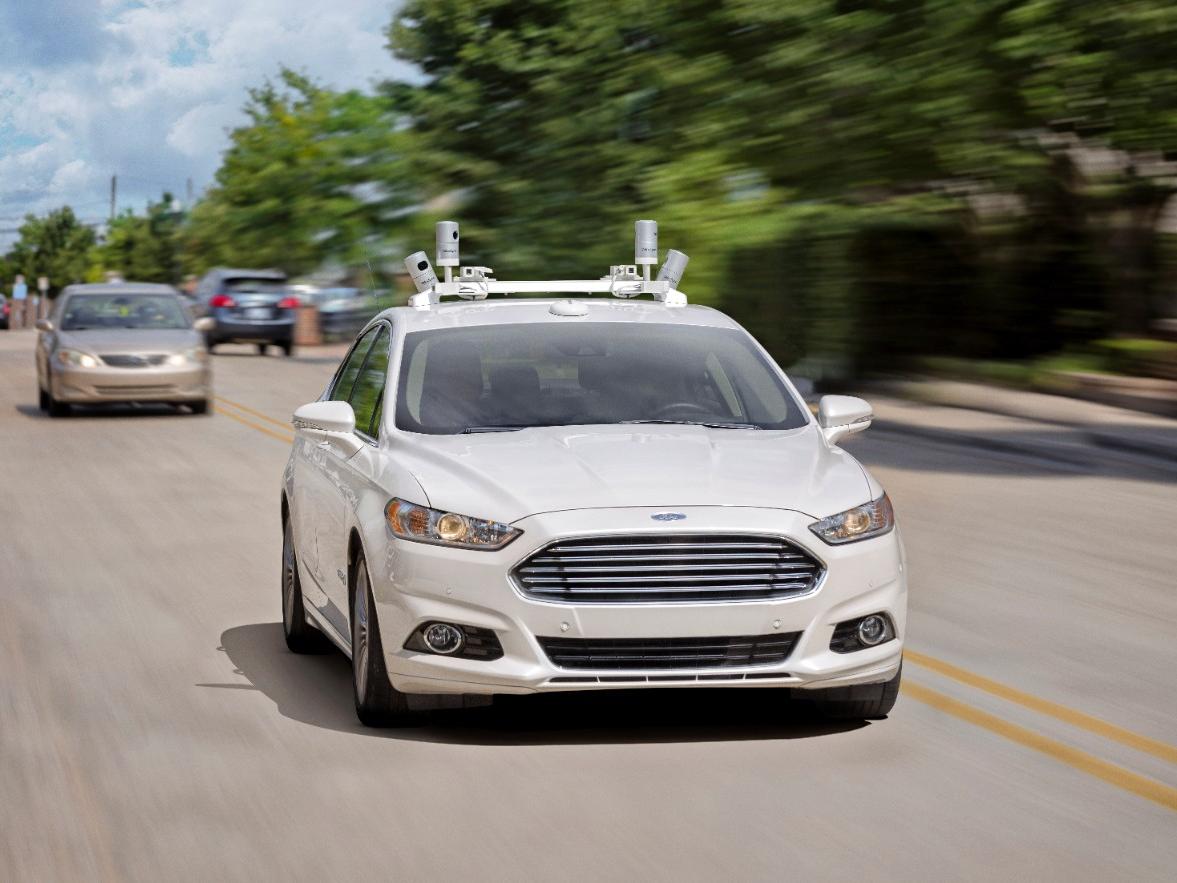 Ford Fusion autônomo é um dos modelos já em testes (Foto: Divulgação)
