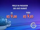 Novas tarifas intermunicipais passam a valer neste sábado (9) na região