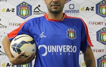 Após estrear, Paulinho é apresentado pelo São Caetano para a Série D