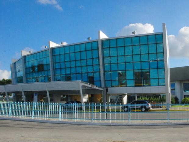 Aeroporto Internacional Castro Pinto, em João Pessoa (Foto: Kleide Teixeira/Jornal da Paraíba)