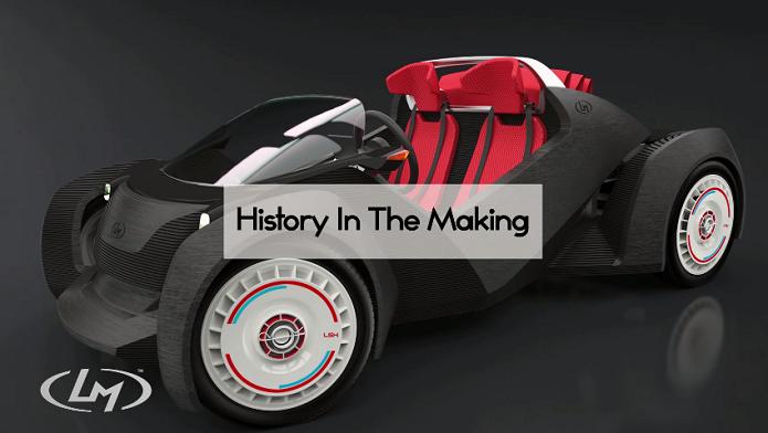 Projeto do carro, cujo objetivo é fazer historia (Foto: Reprodução/YouTube)