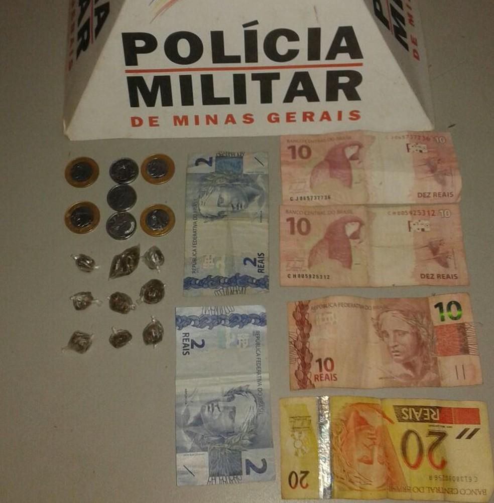 Autor já foi preso outras vezes por tráfico de drogas (Foto: Polícia Militar/Divulgação)