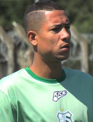 Cleiton Guimarães meia Caldense (Foto: Divulgação Caldense)
