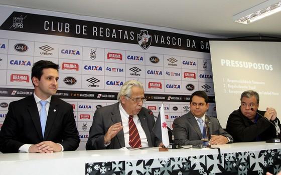 Vasco e Enrst & Young apresentam projeto para captação de patrocínios via Lei de Incentivo ao Esporte (Foto: Paulo Fernandes / Vasco)