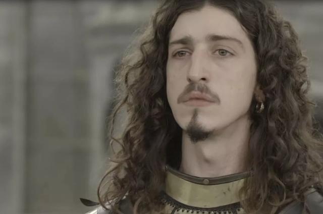Johnny Massaro, o Rodolfo de 'Deus salve o rei' (Foto: TV Globo)