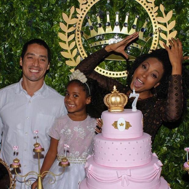 Aniversário de Sofia, filha de Negra Li (Foto: Reprodução/Instagram)