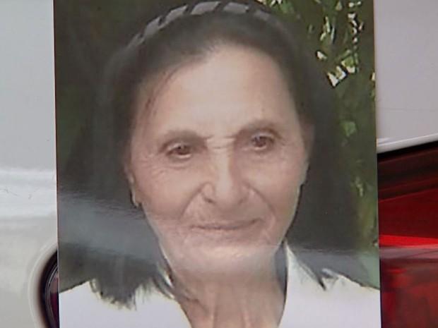 Francisca André de Souza foi morta a facadas e polícia considera que marido seja o principal suspeito (Foto: Reprodução/EPTV)