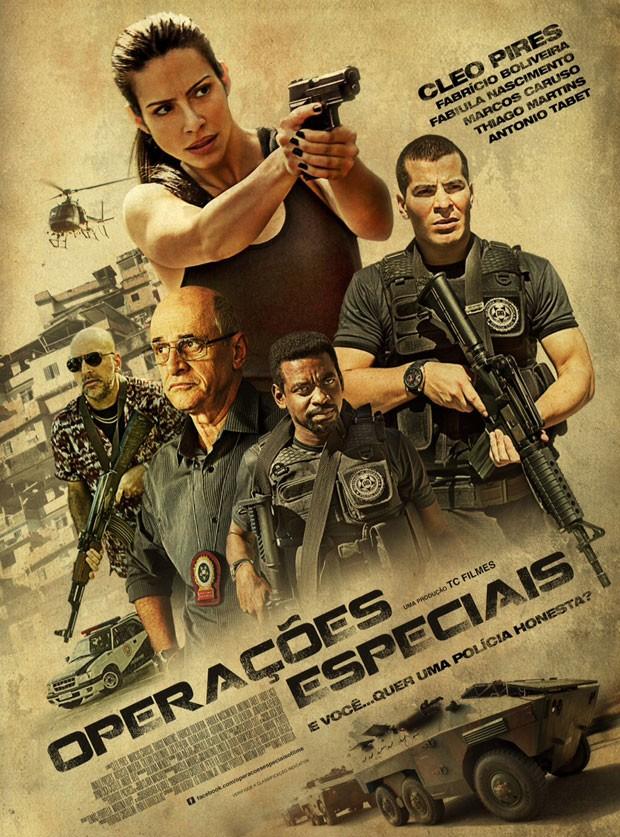Cartaz do filme 'Operações especiais', estrelado por Cleo Pires (Foto: Divulgação)