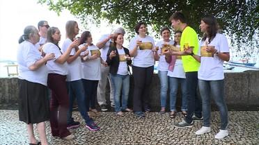 Felipe leva participantes do concurso 'o melhor pastel do Brasil' para tour pelo Rio