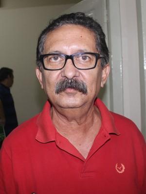Sergil Araújo, presidente do 4 de Julho (Foto: Francisco Filho)