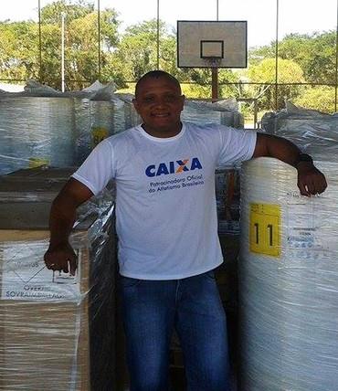 Cláudio Roberto atletismo (Foto: Reprodução/Facebook)