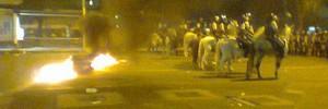 BA: confronto marca protesto (Lílian Marques/G1)