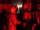 Bombeiros apagam incêndio em casa de Ceilândia, no DF