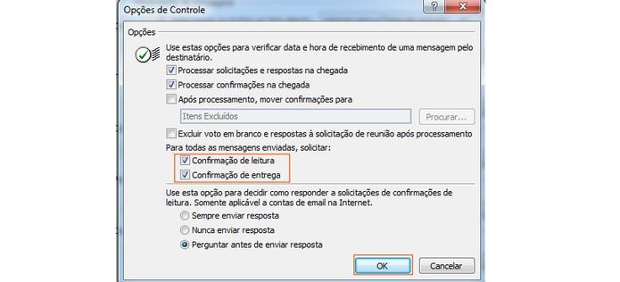 Como Saber Se Um Contato Recebeu E Leu Seu E Mail No Outlook