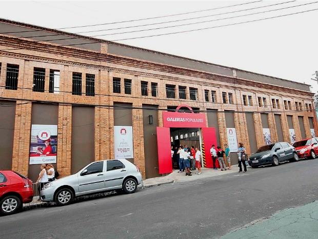 Galeria Espírito Santo é o primeiro shopping popular inaugurado em Manaus (Foto: Divulgação/Semcom)
