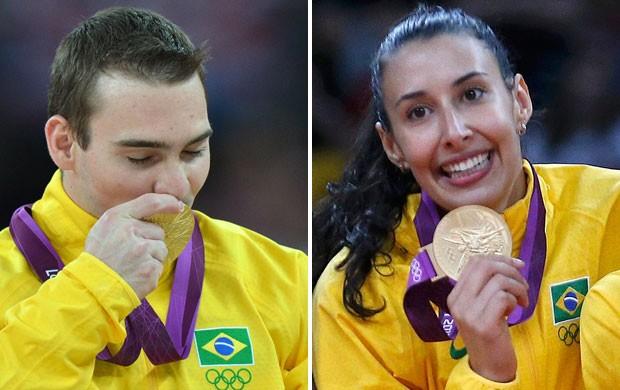 campanha premio brasil olimpico 2 (Foto: Montagem sobre foto da AFP)