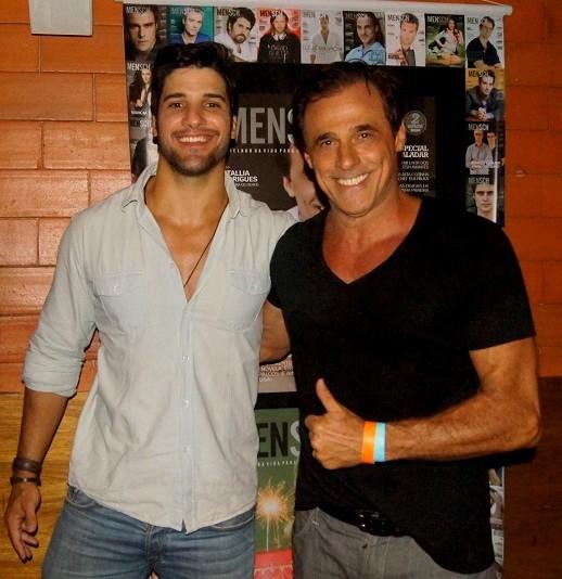 Marcello Soares e Oscar Magrini (Foto: Carol Grosskopf/MF Models assessoria/Divulgação)