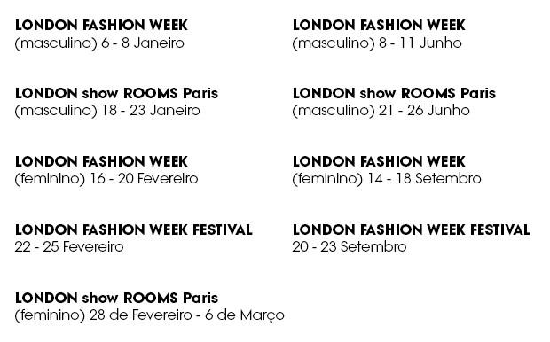 London Fashion Week (Foto: Divulgação)