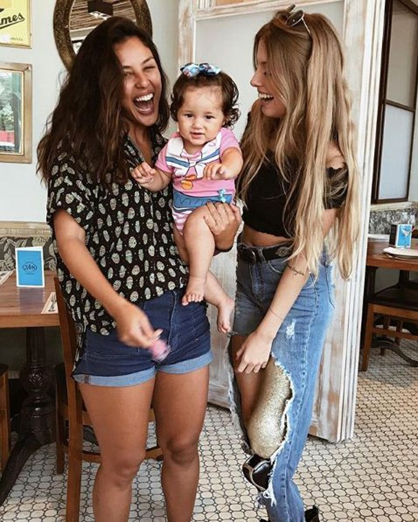 Yanna Lavigne, Madalena e Paola (Foto: Reprodução Instagram)