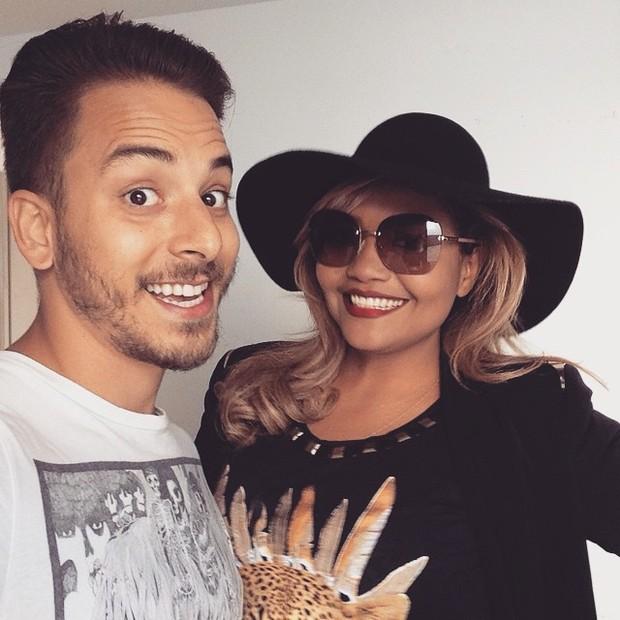 Junior Lima e Gaby Amarantos (Foto: Instagram / Reprodução)