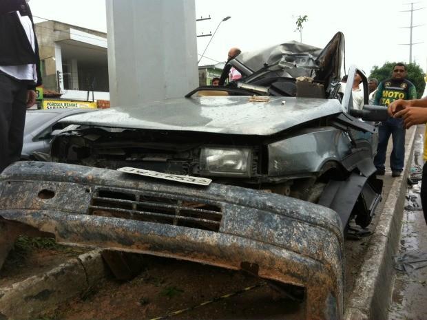 Parentes desconfiam que motorista estava bêbado (Foto: Girlene Medeiros/G1 AM)