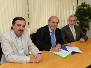 Fundações Roberto Marinho e Padre Anchieta firmam parceria (Foto: Divulgação)