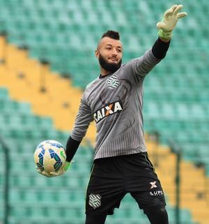 Alex Muralha Figueirense (Foto: Luiz Henrique/Figueirense FC)