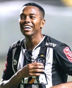 Robinho comemoração Atlético-MG (Foto: Bruno Cantini / CAM)