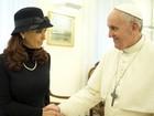 Kirchner pede a Papa por Malvinas (Osservatore Romano/Reuters)