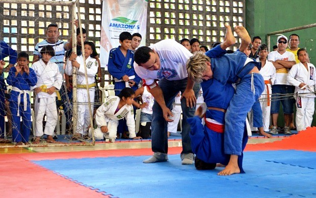 Jiu-jítsu Amazonas, Copa Nonato Machado (Foto: Emanuel Mendes Siqueira/Sejel)