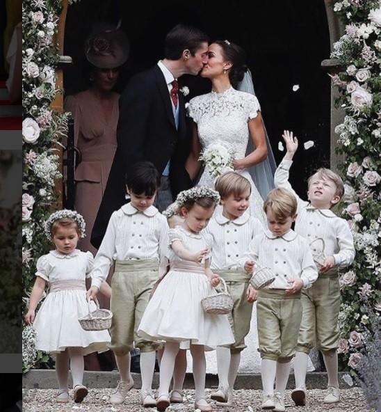 Pippa Middleton e o milionário se casam na Inglaterra  (Foto: Reprodução/ Instagram)