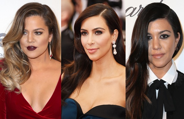 Khloe, Kim e Kourtney Kardashian (Foto: Getty Images)