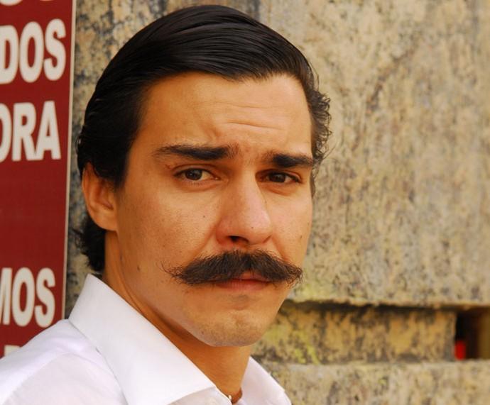 Em 'Caminho das Índias', André Gonçalves era Gopal  (Foto: TV Globo/Márcio de Souza)