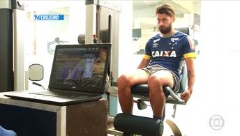 Rafael Sobis já está em Belo Horizonte, fazendo exames para assinar contrato