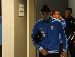 Gabriel, atacante do Santos (Foto: Diego Guichard)